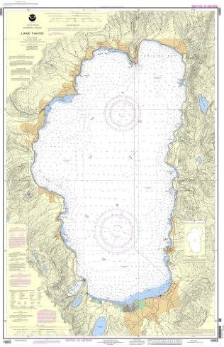 NOAA Chart 18665: Lake Tahoe