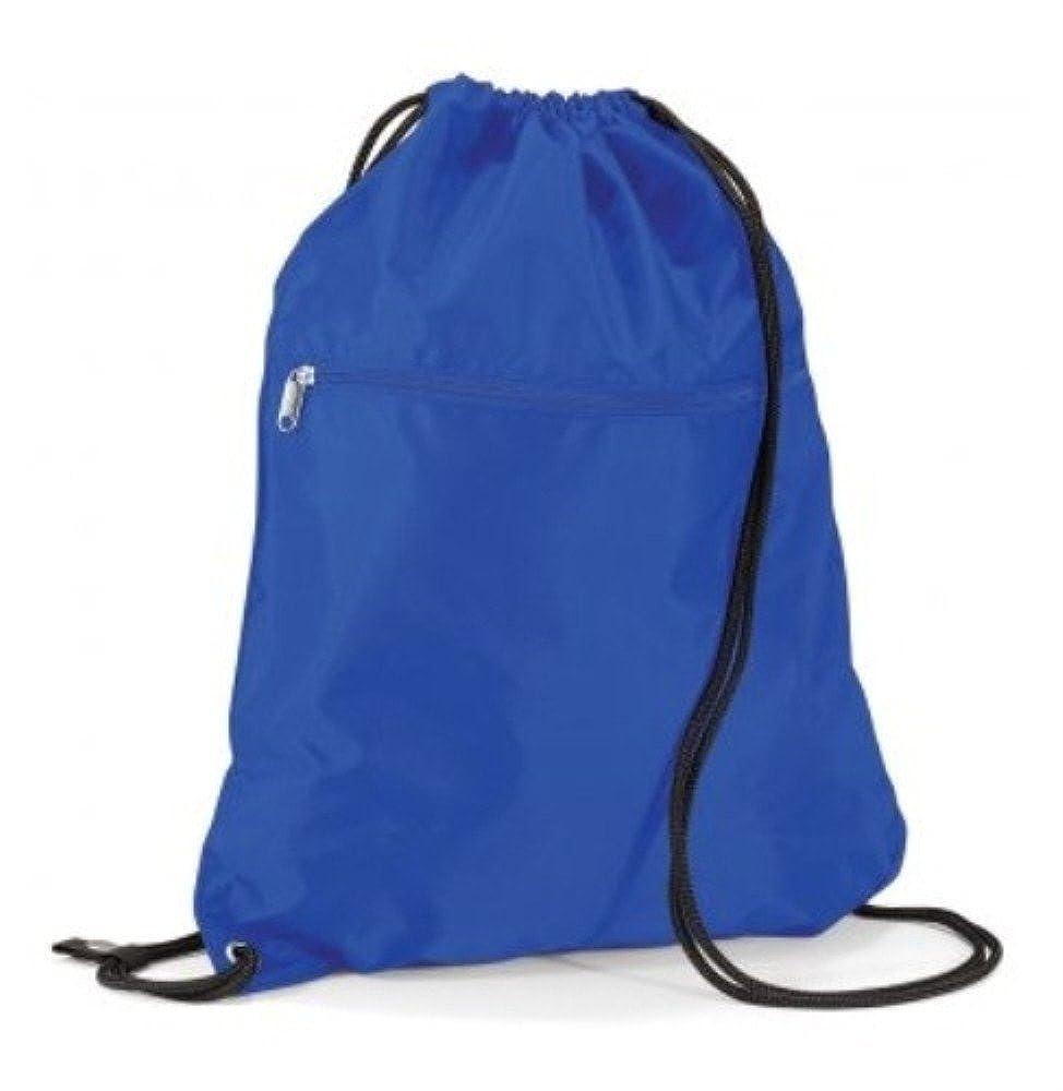 QUADRA - petit sac à dos à bretelles / cordon coulissant - gym - poche zippée - PREMIUM GYMSAC - QD71