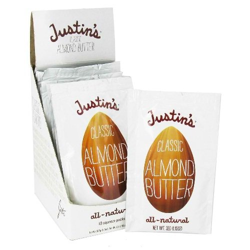 Justins, Nut Butter Almnd Clsc Sqz Pk, 1.15 OZ (Pack of 10)