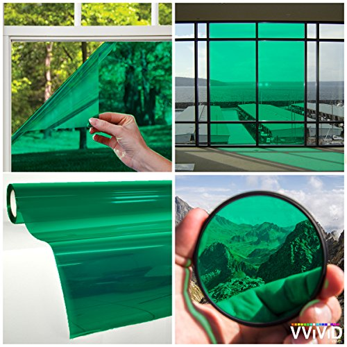 VViViD Transparent Colorful Vinyl Window Tinting Sheets (5ft x 5ft, - Lens Tinting