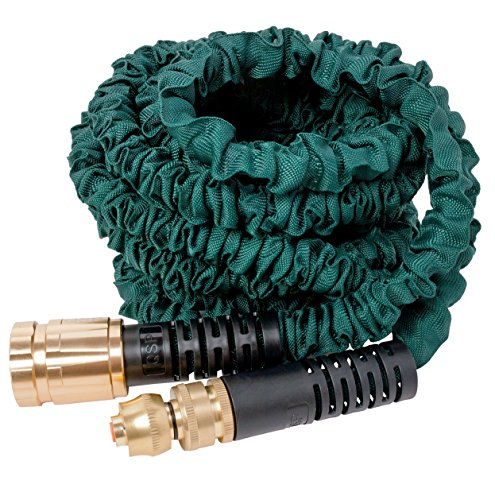 100' Expandable Hose with Sprayer, Available in 5 Sizes, Strongest Expanding Garden Hose on the Planet.