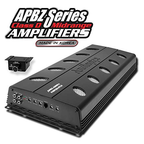 Audiopipe Class D Midrange Amplifier APBZ-6000.1 Output Power at 1 ohm: 6000W