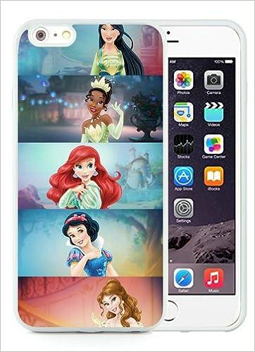 competitive price 2f793 2897c Amazon.com: iPhone 6 Plus Case,Mulan Tiana Ariel Snow White Belle ...