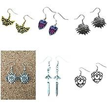 The Legend of Zelda (6 pair) Charm Earrings ( J & C Family)
