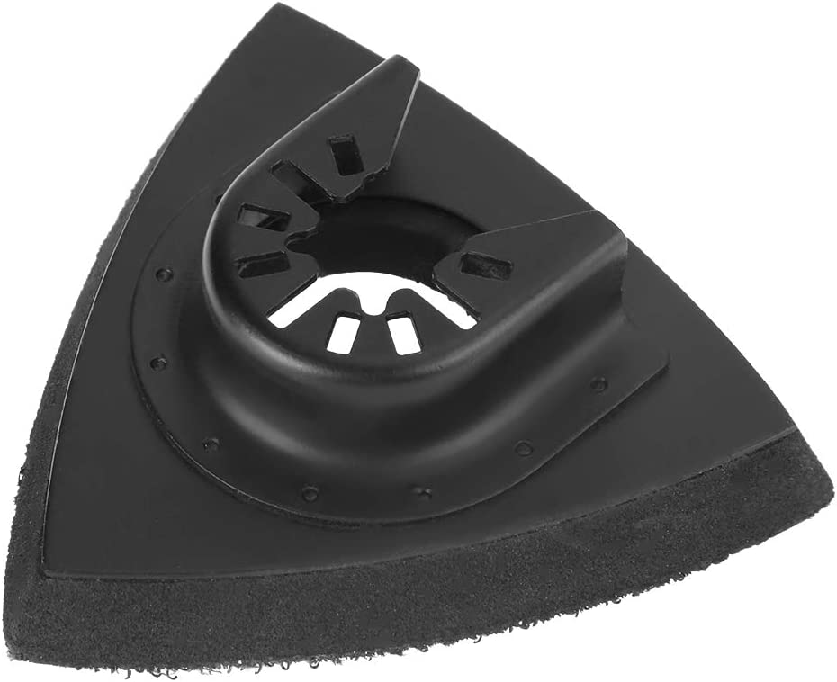Hook and Loop Mouse Sander Pads Sander Paper 82pcs Sanding Kit Oscillating Multi Tool Sand Pad for Bosch Stanley Multimaster Makita Dremel Broco Sanding Sheets