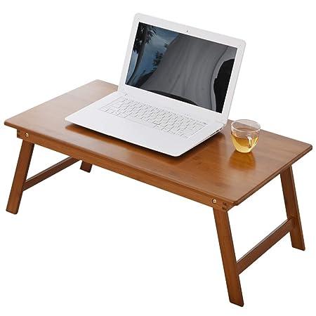 SISIZHANG Mesa de computadora para Cama, Mesa Plegable para ...