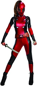 Horror-Shop Disfraz de mujer Deadpool L: Amazon.es: Juguetes y ...