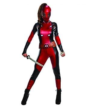 Horror-Shop Disfraz de mujer Deadpool L: Amazon.es: Juguetes ...