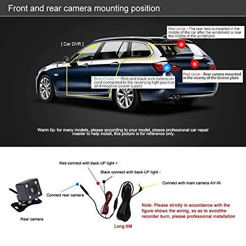 Gamme Tour B90s Plus SUV Camion van v/éhicule de voiture Dash Cam/éra enregistreur de conduite Cam/éra de voiture grand Sreen