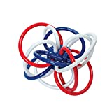 Manhattan Toy Red, White, and Blue Winkel Rattle