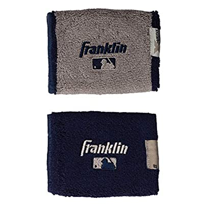 Franklin Sports MLB 4 0 quot X-Vent Pro Reversible Wristband Pair Estimated Price £4.57 -