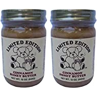 Limited Edition Cinnamon Honey Butter in Resealable Jar - Two 12 ounce jars (24 ounces total)