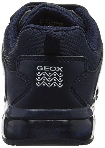 Geox J Android D, Zapatillas para Niños Azul (Navy)