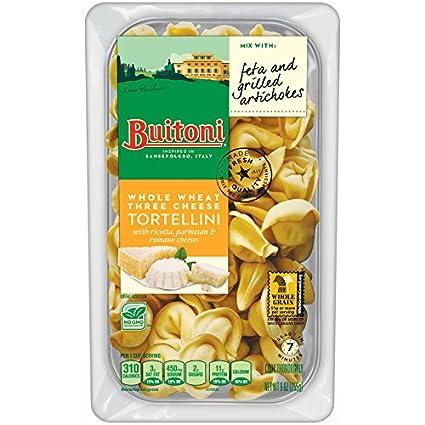 Buitoni Whole Wheat 3 Cheese Tortellini, 9 oz: Amazon.com ...