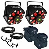 Chauvet Swarm 5 FX LED/Laser Effects Lights w/ Bags, DMX Cables and Clamps