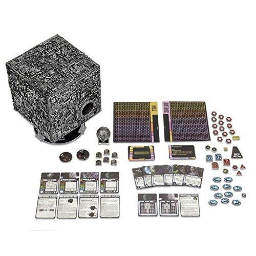 Star Trek Attack Wing: Large Borg Cube with Sphere Port Premium Figure - Borg Ship