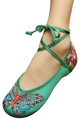 bottle green dress shoes - 2