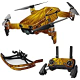MightySkins Skin For DJI Mavic Air Drone - Golden Locks | Max Combo | Protective, Durable, and Unique Vinyl Decal wrap cover | Easy To Apply, Remove, and Change Styles | Made in the USA