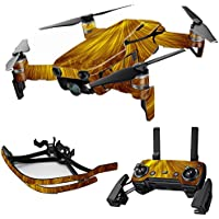MightySkins Skin for DJI Mavic Air Drone - Golden Locks | Max Combo Protective, Durable, and Unique Vinyl Decal wrap cover | Easy To Apply, Remove, and Change Styles | Made in the USA