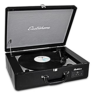 Electrohome Archer Vinyl Record Player Classic Turntable Stereo System with Built-in Speakers, USB for MP3s, Headphone Jack, AUX Input for Smartphones, Tablets, (EANOS300) (B008YGH5LO) | Amazon price tracker / tracking, Amazon price history charts, Amazon price watches, Amazon price drop alerts