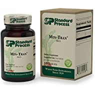 Standard Process - Min-Tran - Emotional Balance Supplement, Supports Healthy Nervous System and Stress Response, Provides Calcium, Iodine, and Magnesium, Gluten Free and Vegetarian - 330 Tablets