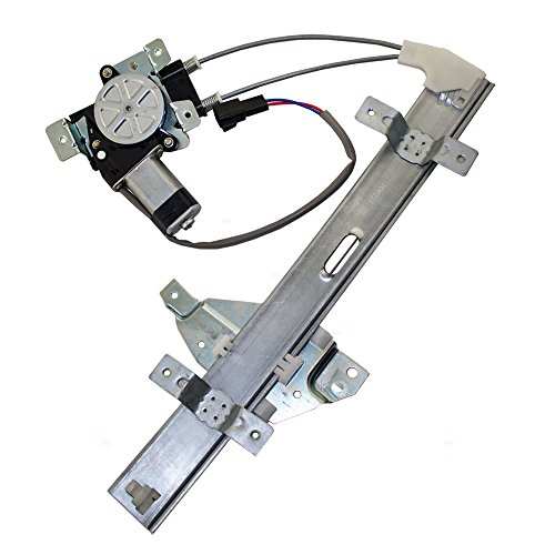 Passengers Rear Power Window Lift Regulator with Motor Assembly Replacement for Pontiac (2000 Pontiac Grand Prix Window Regulator)