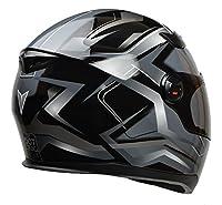 Vega Helmets AT2 Street Motorcycle Helmet for Men & Women – DOT Certified Full Face Motorbike Helmet for Cruisers Sports Street Bike Scooter Touring Moped Moto (Black Flash Graphic, XX-Large) by Vega Helmets