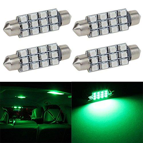 Partsam-4pcs-42mm-Festoon-12SMD-LED-Interior-Dome-Map-Light-Bulb-Lamp-12V-561-562-211