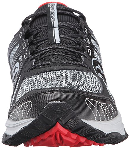 Saucony Men's Grid Excursion TR10 Running Shoe, Grey/Black/Red, 8.5 M US by Saucony (Image #4)