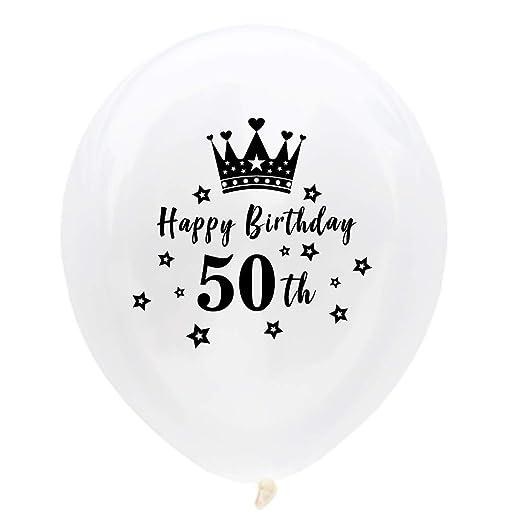 Wisilan - Juego de 10 globos de látex blanco para confeti ...