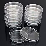 Lab & Scientific Supplies Glassware & Labware - 10pcs Disposable Clear Plastic Petri Dish Bacterial Culture Dish Plate 55X15mm