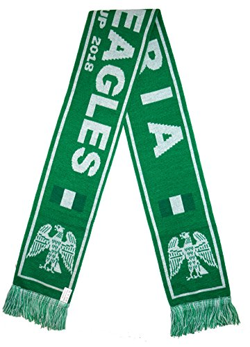 World Cup 2018 Fans Favorite Soccer Scarves  Nigeria