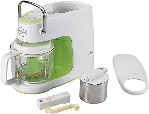 Hanil Procesador y licuadora de vapor para preparar alimentos para ...