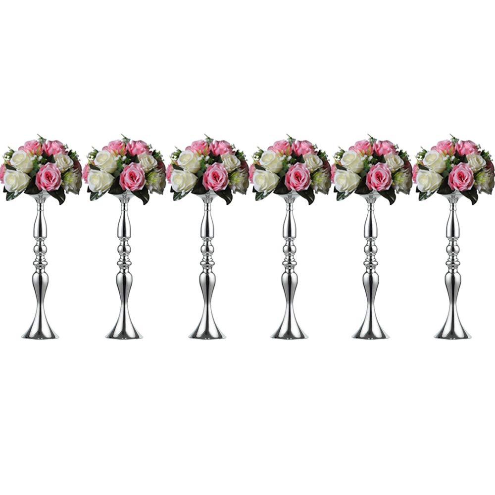 Portafiori per guida matrimonio/festa, alto candelabro in ferro, decorazione centrale del tavolo principale per matrimoni, forniture di layout scena matrimonio/festa Fuzhou cangshan