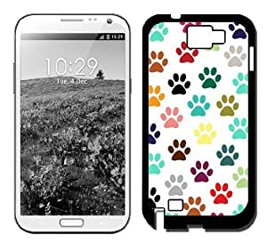 Cat Foot Prints Galaxy Note 3 Case Fits Galaxy Note 3 by Maris's Diary