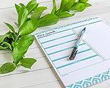 Weekly Planner Pad by Julianne & Co - Premium