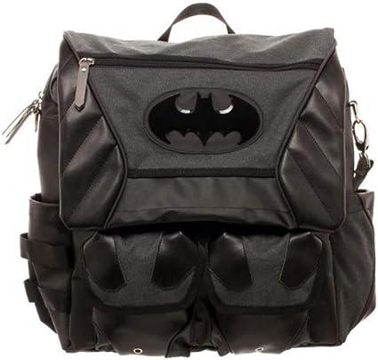 DC Comics Batman Joker Logo Leather backpack cosplay Sports Messenger school Bag