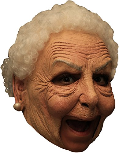 Halloween Old Mask (Little Old Nanny Deluxe Chinless)