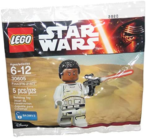 Lego Star Wars minifigura Finn fn-2187 sw0716 30605 polybag nuevo embalaje original