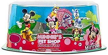 Official Disney Minnie s Pet Shop Minnie Mouse Figure Set — 6-Pc.