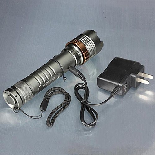 1Pc Exceptional Popular 3 Mode LED 2000LM Flashlight Anti-Reflective Waterproof Torch Tactical Lamp Color