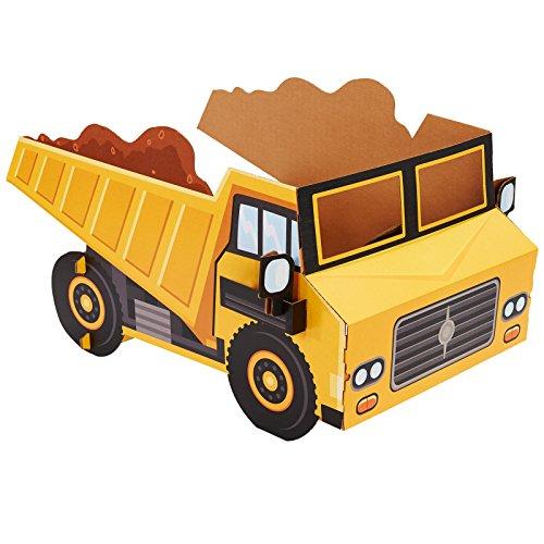 ADVA5700 Construction Room Decorations - Dump Truck Cardboard Stand in Photo -