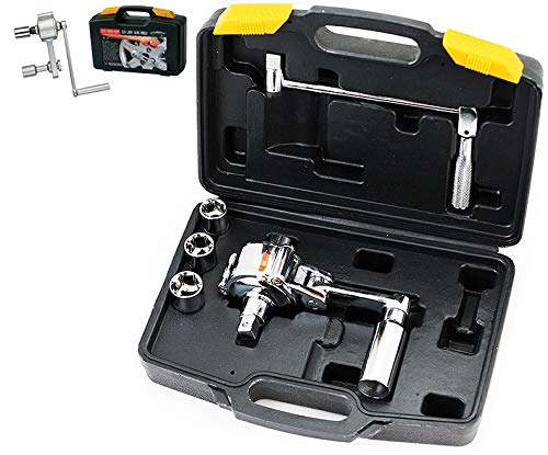 XtremepowerUS Torque Wrench Multiplier Lug Nut Labor Saving Wrench W/Case by XtremepowerUS (Image #1)
