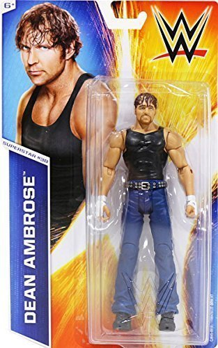 WWE Dean Ambrose The Shield Action Basic Figure Series 51 #38 Wrestling Mattel (Wwe The Shield Best Moments)