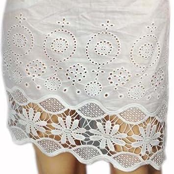 Cotton Voile Ösen-Spitze-Kleid-Gewebe Stickerei, Baumwollspitze ...