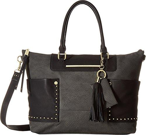 Steve Madden Women's BAnna Convertible Tote Cognac Handbag (Convertible Tote Handbag)