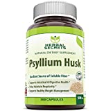 Herbal Secrets Psyllium Husk 500 Mg 500 Capsules