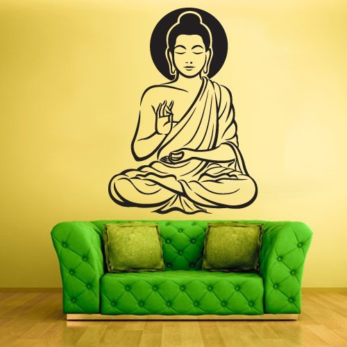 Amazon.com: buddha wall decal buddha wall decor buddha wall art ...