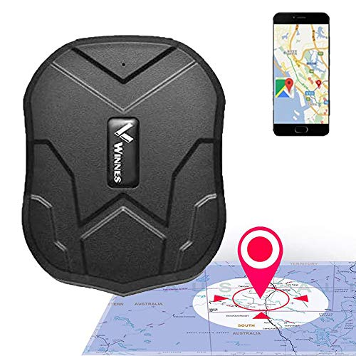 Zeerkeer GPS Tracker, Waterproof Car Tracker Anti-lost GPS Locator 3 Months Long Standby Strong Magnetic Rechargable gps…