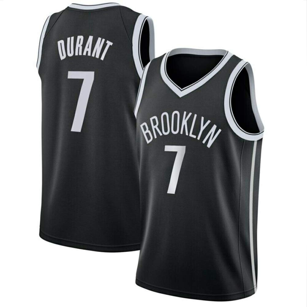 Decheng Kevin Durant Brooklyn Nets Jersey #7#35 City Edition Embroidered Stitched Jersey Mens Basketball